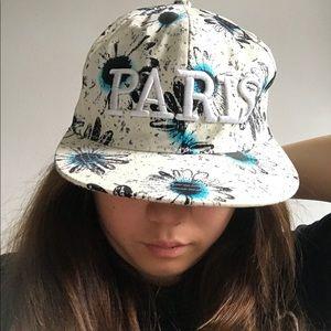 Accessories - Cute flower pattern SnapBack hat